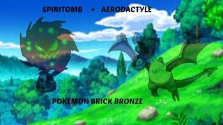 l Roblox l Pokemon Brick Bronze l How to get aerodactyle and spiritomb
