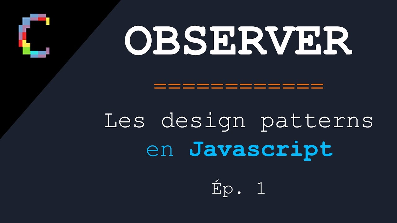 Observer Pattern Javascript Simple Ideas
