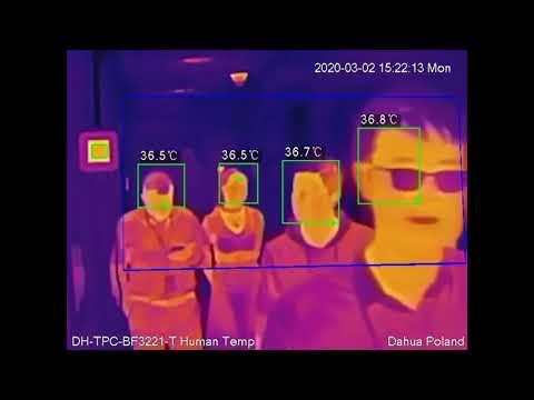 Coronavirus Fever Screening Solution, Human Body Temperature Measurement Thermal Camera