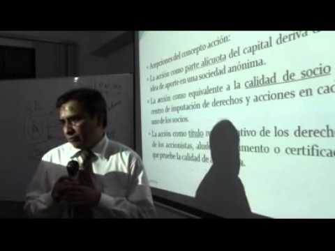 INDeJUR - Aspectos Jurídicos de las acciones en la  Ley General de Sociedades