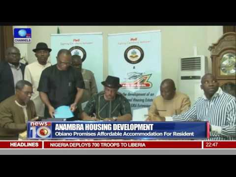 Anambra Partners Private Investors On Housing Development