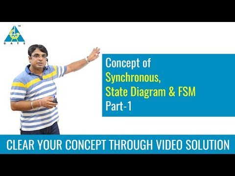 Synchronous, State Diagram & FSM (Part-1)