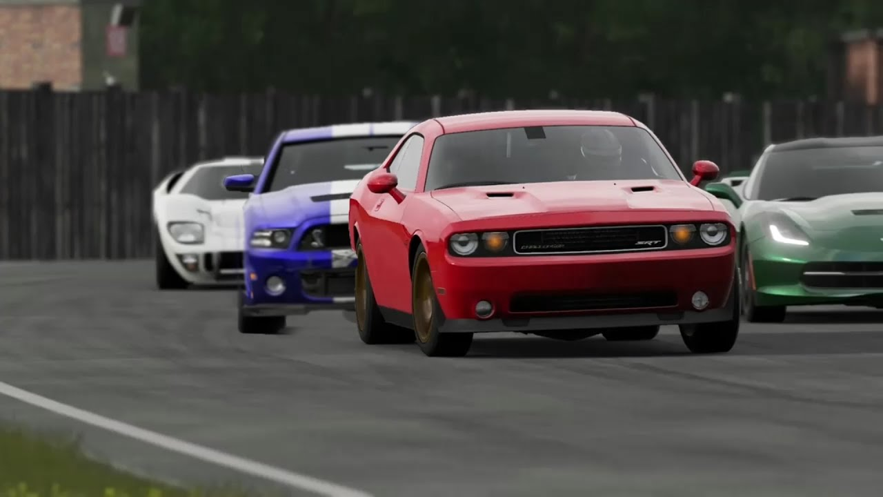 Dodge Challenger Hellcat Vs Corvette Gt500 M3 Ferrari And More Top Gear Track Youtube