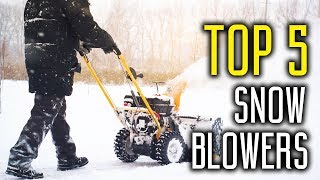 Best Snow Blowers in 2018 - Snow Blower Review & Buying Guide
