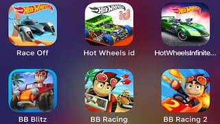 Beach Buggy Racing 2,Hot Wheels Race Off,Beach Buggy Blitz,Hot Wheels ID,Hot Wheels Infinite Loop