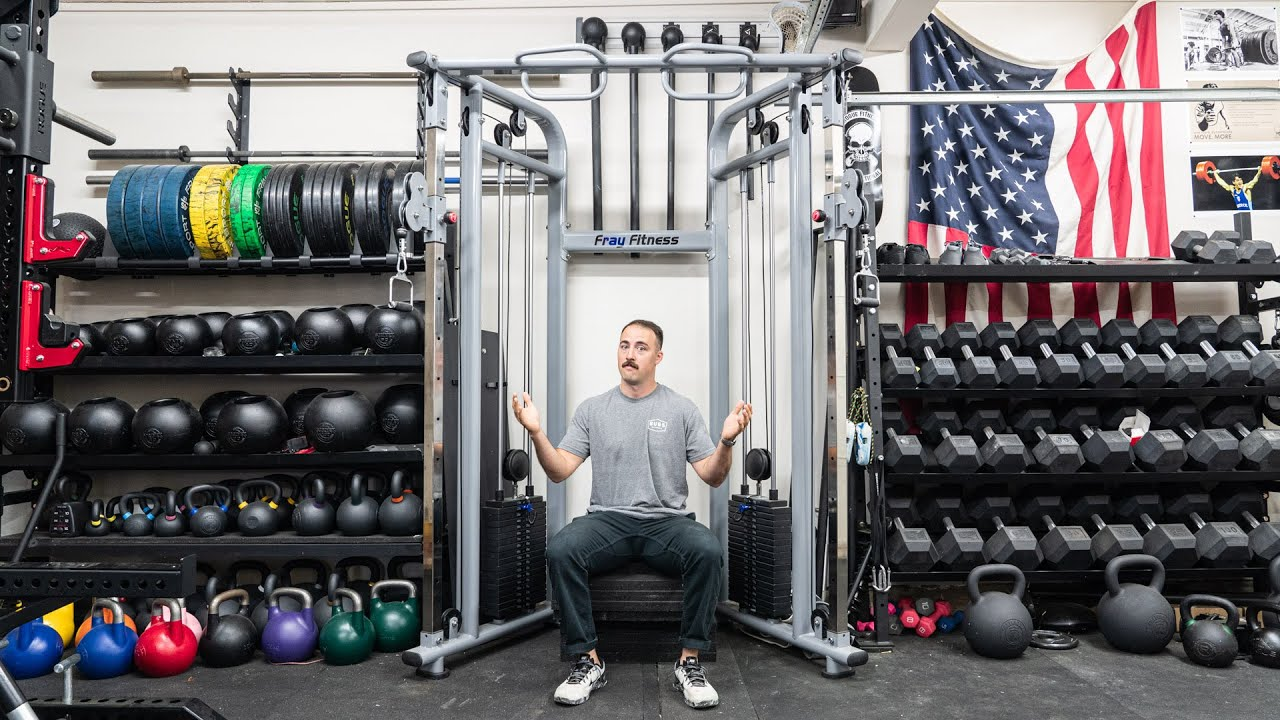The Cheapest Home Gym Functional Trainer I Recommend...