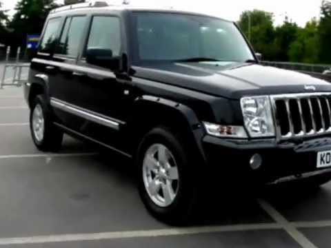 7 Seater Vehicles >> Jeep Commander 3.0 CRD Turbo Diesel Limited Ltd 7-Seater ...