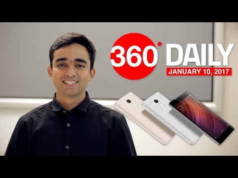 Xiaomi Redmi Note 4 India Launch, WhatsApp Adds GIF Search, and More (Jan 10, 2017)