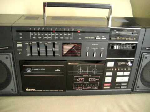 Mitsubishi Tx L50 Ultra Rare Boombox Ghettoblaster 5