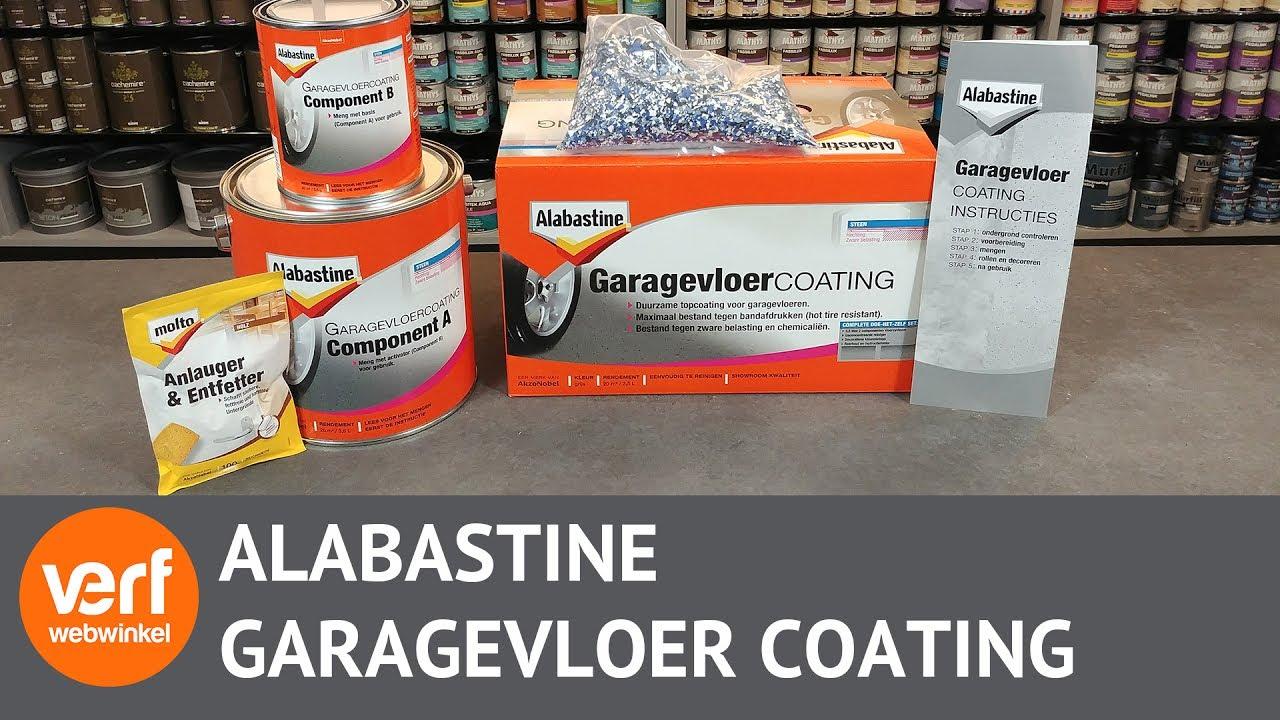Garagevloer coating online kopen wat zit er in de alabastine