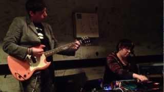 """Ladybug Picnic Volume 2"" Live performance at Bar Isshee in Shibuya (Tokyo) (April 30, 2012) Band: Client/Server Members: Tom Guttadauro & Jennifer ..."