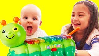 ABC, Colors and Five Little Monkeys Nursery Rhymes Kids Songs