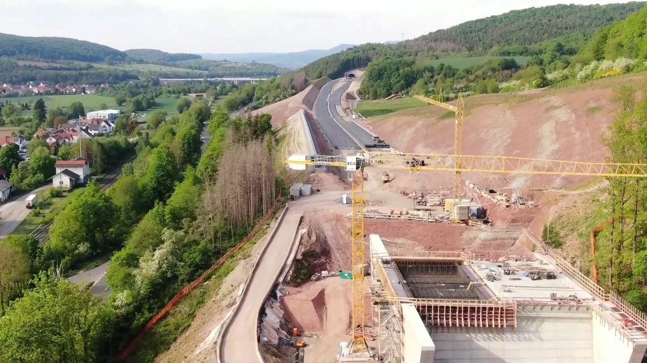 A44 Kassel Eisenach 2021