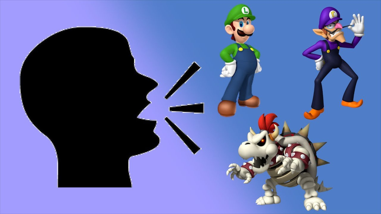 Doing Impressions Of Mario Kart Wii Characters As I Play As Them