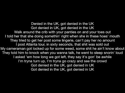Lil Durk - Denied in UK (Official Music Video Lyrics)