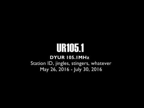 UR105 (DYUR-FM) stationID and whatevers... ( ͡° ͜ʖ ͡°)