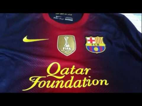 DAVID VILLA 2012-13 FC Barcelona Home Jersey