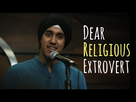 """Dear Religious Extrovert"" - Simar Singh 