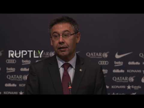 Spain: Ernesto Valverde confirmed as new Barcelona manager