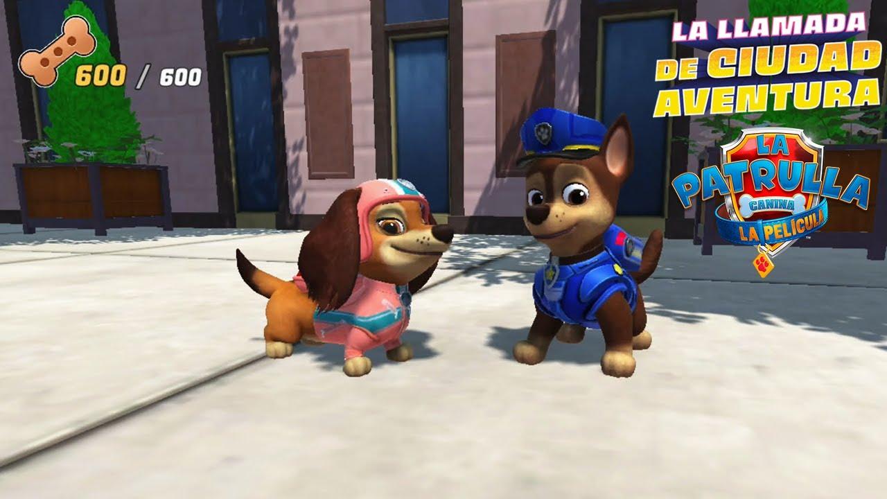 Patrulla de Tráfico- La Patrulla Canina: La llamada de Ciudad Aventura Gameplay #2 [Nintendo Switch]