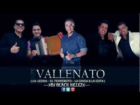 Mix Vallenato 2 ( La Leona - El Terremoto - La Gringa - La Gota ) - Dj Black Killez