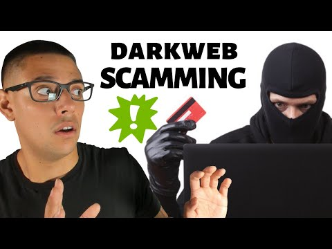 Dark Web Credit Card SCAMMING 101