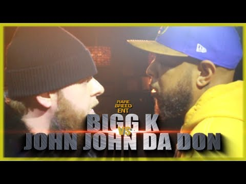 BIGG K VS JOHN JOHN DA DON RAP BATTLE - RBE