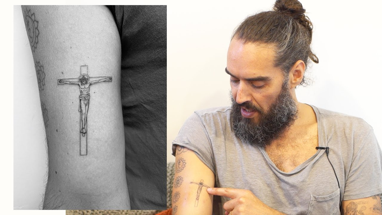 993a6088e Why I Have A Jesus Tattoo... | Russell Brand - YouTube