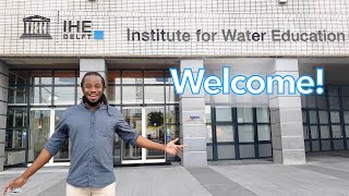 IHE Delft 💧 Virtual tour of IHE Delft with Coronavirus measures in place