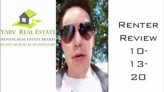 Renter Review 10-13-20 #BeLiveBeRealBeAnInvestor
