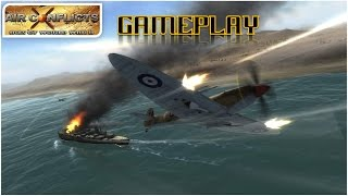Air Conflicts: Aces of World War II - PSP - Gameplay / Review - Las Aviones Bananeras