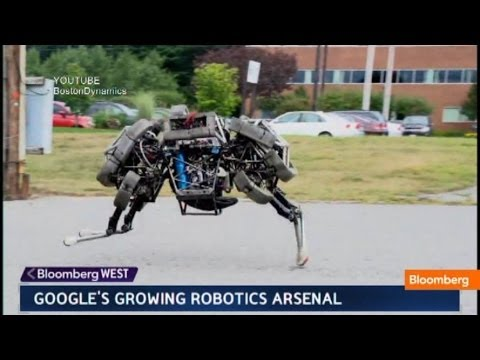Google's Robot Army: Military or Civilian Purpose? - YouTube