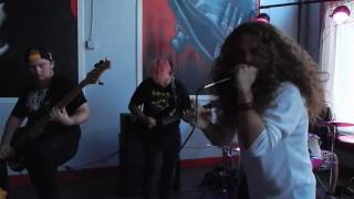 Throne Of the Beheaded Delusional To False Existence (Live)
