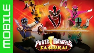 Power Rangers Samurai Steel (FREE APP) - Gameplay (iPhone/iPad/Android) HD