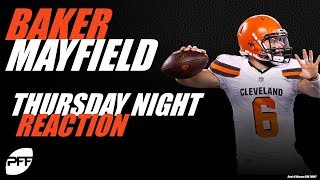 Baker Mayfield: Thursday night reaction | PFF