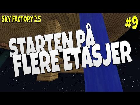STARTEN PÅ FLERE ETASJER - Sky Factory 2.5 #9