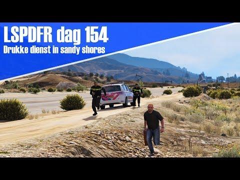 GTA 5 lspdfr dag 154 - Drukke dienst in Sandy Shores met collega