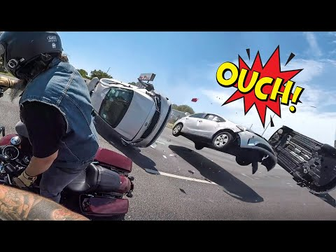 BIKERS IN TROUBLE | SUPER ANGRY, STUPID & CRAZY PEOPLE Vs BIKERS 2020 | [Ep. #439]