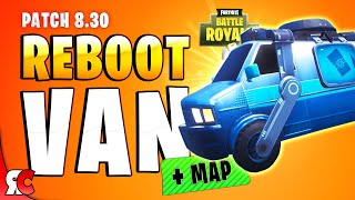Fortnite Patch 8.30 | NEW Reboot Van & How It Works (+ All Map Locations)