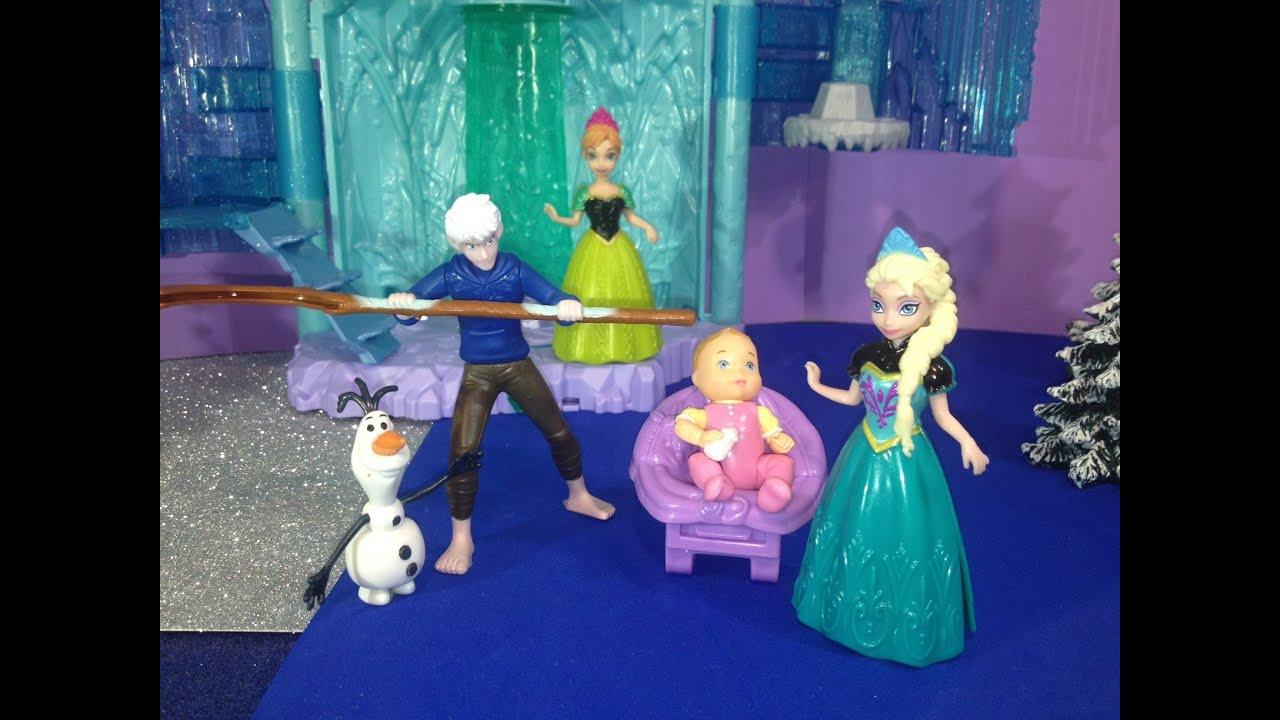 Disney frozen queen elsa and jack frost have a baby a disney frozen