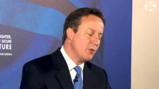Brain fade: 'Aston Villa fan' David Cameron confuses his team for West Ham - video