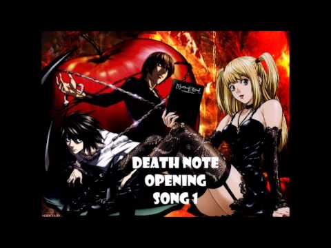 Death Note Opening Song 1