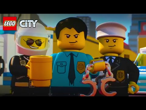 LEGO City Police Mini Movies Compilation Episode 1 To 6 | LEGO Animation Cartoons