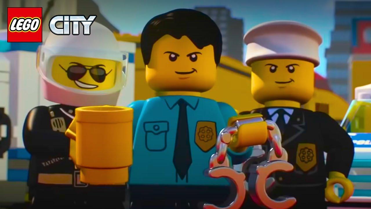 LEGO City Police Mini Movies Compilation Episode 1 to 6 | LEGO Animation Cartoons
