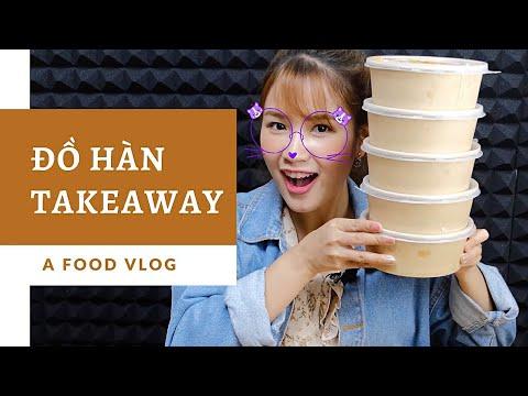 Ăn đồ Takeaway cùng Payo | Gà cay nướng, khoai lắc phomai, ASMR mỳ tương đen trứng ốp siêu ngon !!!