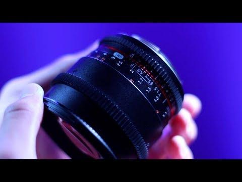 Best Budget Cine Lens! - Samyang 85mm T1.5