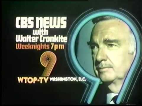 CBS Evening News With Walter Cronkite 1976 WTOP Promo ...  CBS Evening New...