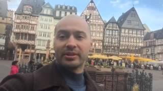 Андрей Черкасов в Франкфурте на Майне(Франкфурт на Майне. Мне нравятся такие города, где видно небо! Не люблю каменные джунгли с высотками., 2016-03-28T08:08:37.000Z)