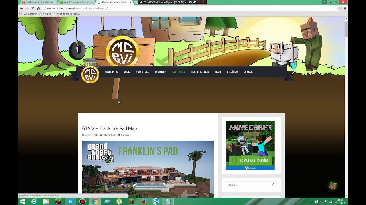 Minecraft Gta 5 modu nasıl indirilir