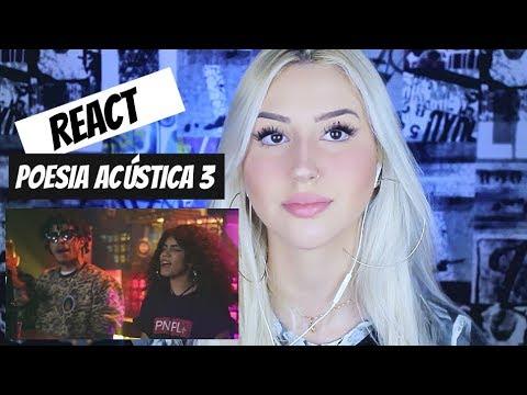 REACT | POESIA ACÚSTICA 3 - CAPRICORNIANA